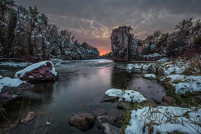 Photograph - Winter Storm  by Aaron J Groen