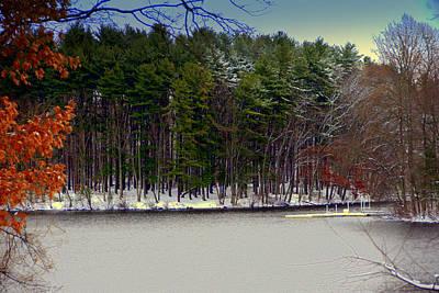Digital Art - Winter Storm by Aron Chervin