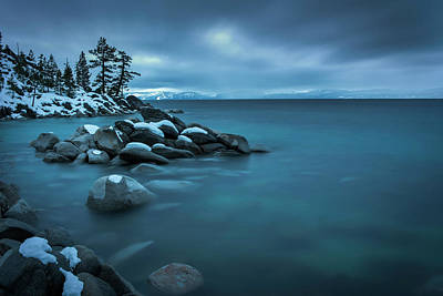 Photograph - Winter Storm By Brad Scott by Brad Scott