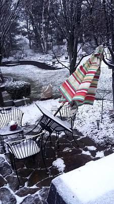 Photograph - Winter Storm Damage #1 by Richard Ortolano