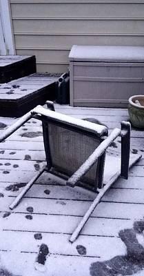 Photograph - Winter Storm Damage #2 by Richard Ortolano