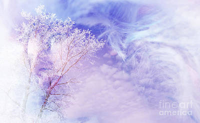 Digital Art - Winter Storm by Ed Churchill