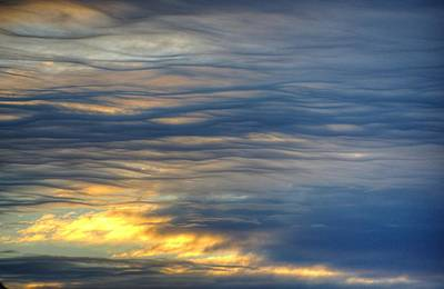 Photograph - Winter Stratus 02 by Philip Rispin