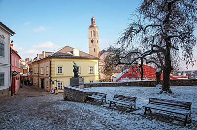 Photograph - Winter Streets Of Kutna Hora by Jenny Rainbow