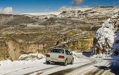 Subaru Rally Photograph - Winter Subaru Adventure by Aaron Fink