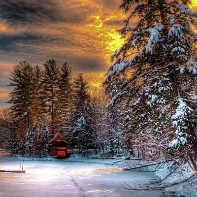 Photograph - Winter Sun by David Patterson