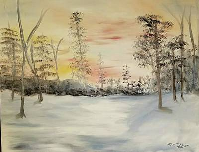 Painting - Winter Sun by Jessie Henry
