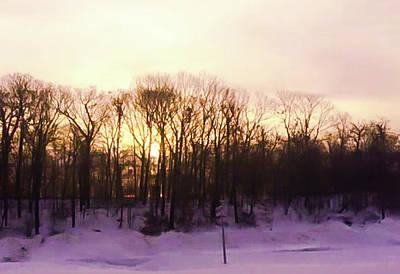 Photograph - Winter Sun by Mireille Roc