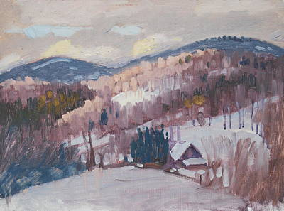 Painting - Winter Sunlight by Len Stomski