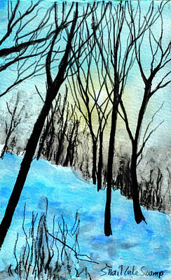 Painting - Winter Sunlight by Lynn Hansen