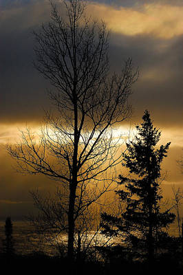 Photograph - Winter Sunrise 2 by Sebastian Musial
