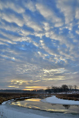 Beastie Boys - Winter Sunrise Above Nippersink Creek by Ray Mathis