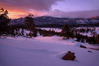 Photograph - Winter Sunrise Bliss by Morris McClung