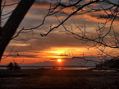 Photograph - Winter Sunrise  by Bruce Gannon