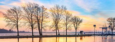 Photograph - Winter Sunrise  by Casper Cammeraat