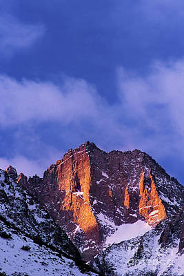 Photograph - Winter Sunrise Eastern Sierras California by Dave Welling