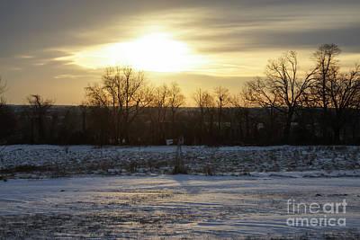 Photograph - Winter Sunrise by Jennifer White