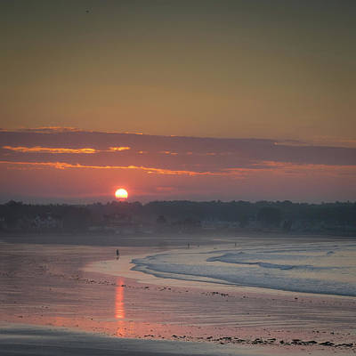 Photograph - Winter Sunrise - Kennebunk by Samuel M Purvis III