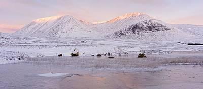 Photograph - Winter Sunrise On Rannoch Moor by Stephen Taylor