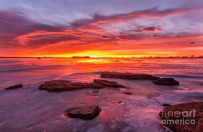 Photograph - Winter Sunrise by Ronda Kimbrow