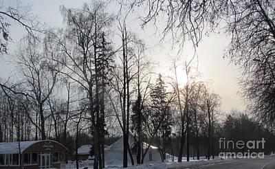 Photograph - Winter Sunset by Anna Yurasovsky