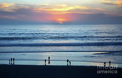 Photograph - Winter Sunset At Carmel Beach by Susan Wiedmann