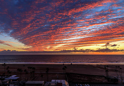 Photograph - Winter Sunset by Gene Parks