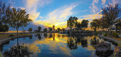 Photograph - Winter Sunset In Goodyear by Kimo Fernandez