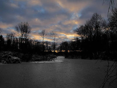 Photograph - Winter Sunset by Scott Hovind