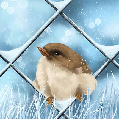 Painting - Winter Sweetness  by Veronica Minozzi