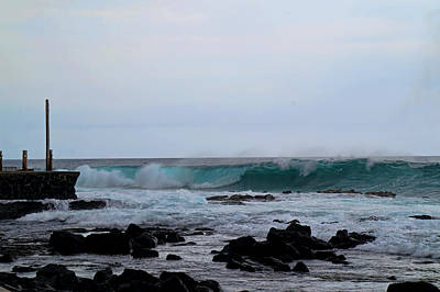Photograph - Winter Swells by Pamela Walton