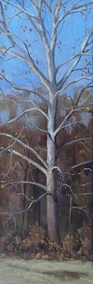 Painting - Winter Sycamore by Todd Derr