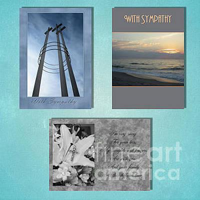 Digital Art - Winter Sympathy by JH Designs