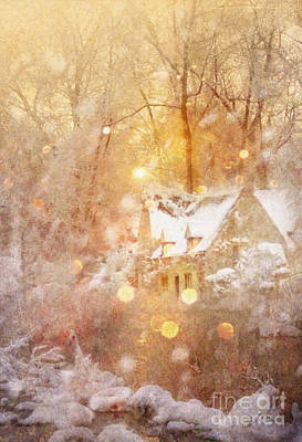Painting - Winter Tale by Mo T