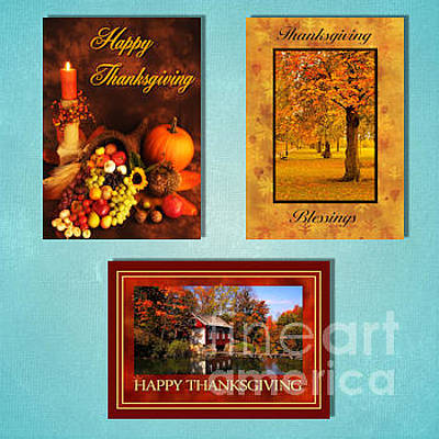 Digital Art - Winter Thanksgiving by JH Designs