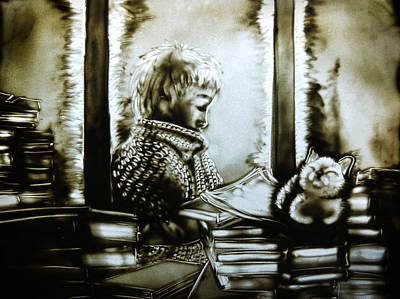 Drawing - Winter Time by Elena Vedernikova