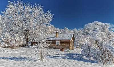 Photograph - Winter Time Retreat by Jaquita Watters