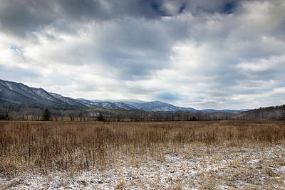 Photograph - Winter Time Valley by Mike Eingle