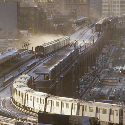 Photograph - Winter Tracks by Jakob Dahlin