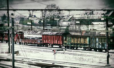 Photograph - Winter Transport by Wim Lanclus