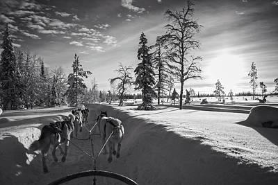 Photograph - Winter Travel by Andreas Dobeli