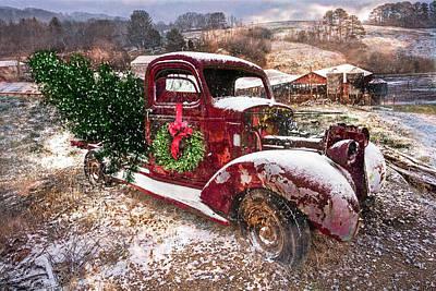 Photograph - Winter Treasures At Christmastime by Debra and Dave Vanderlaan