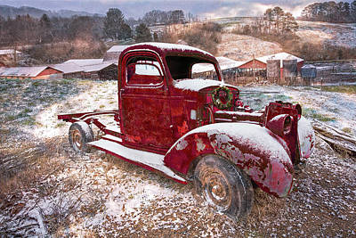 Photograph - Winter Treasures by Debra and Dave Vanderlaan