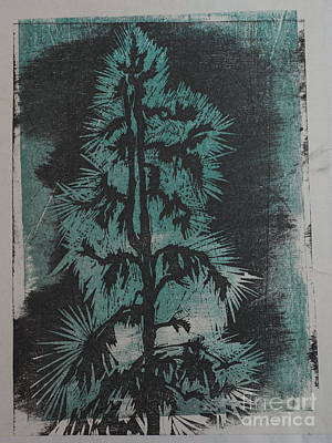 Winter Tree Art Print by Crafty Daniel