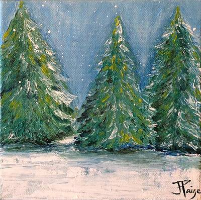 Painting - Winter Tree by Julie Clanton