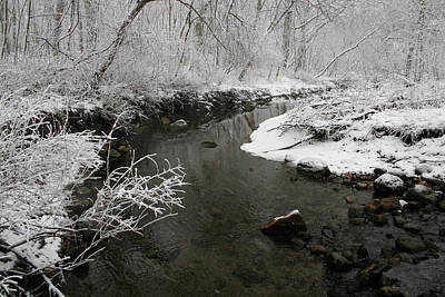 Photograph - Winter Tributary by Dylan Punke