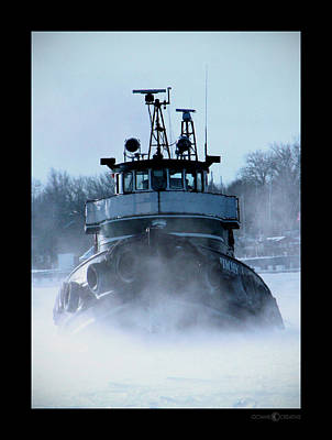 Photograph - Winter Tug by Tim Nyberg