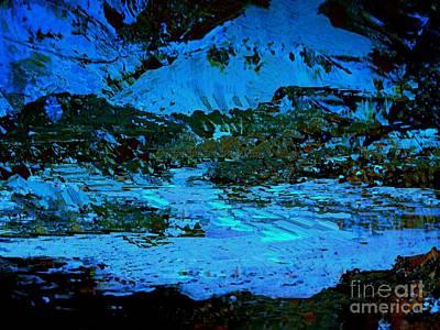 Digital Art - Winter Twilight by Nancy Kane Chapman