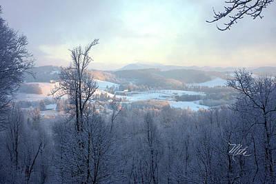 Photograph - Deer Valley Winter View by Meta Gatschenberger
