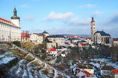 Photograph - Winter View Of Kutna Hora. Czech Republic by Jenny Rainbow